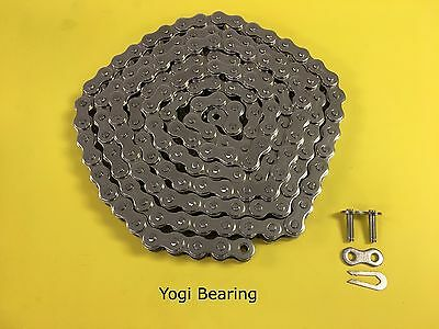 60-1ss Stainless Roller Chain 10ft Wconnecting Link Ansi Standard 60ss