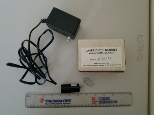 Imatronic LDL175/670/1 laser diode module & power supply