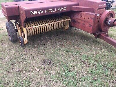 Estate Sale New Holland 310 Square Baler Super Sweep Pickup