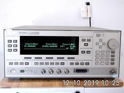 Agilent Hp 83630b 001002 Signal Generator 10 Mhz-26.5 Ghz Warranty Nist