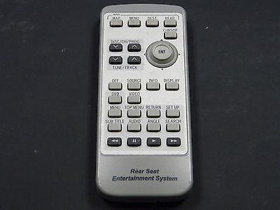 LEXUS  REAR DVD Entertainment Remote Control REAR SEAT OEM 86170-60030