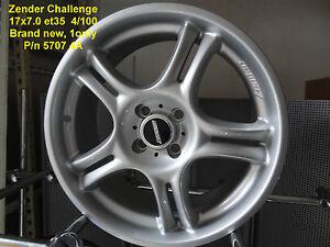 GENUINE-ZENDER-CHALLENGE-WHEEL-17x7-4x100-ALLOY-RIM-MAG-SPARE