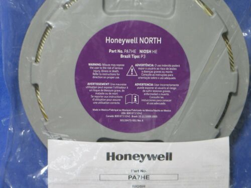 HONEYWELL  NORTH  PA7HE  RESPIRATORY  PROTECTION  FILTER  MFG  DATE: 06/05/20