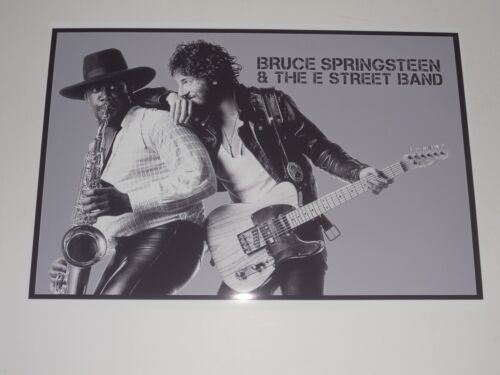 """Large Bruce Springsteen / Clarence Clemons Born to Run 1975 Poster 19""""x13"""""""
