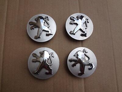 4x Peugeot Felgendeckel Felgenkappe Nabenkappe 9639098380, gebraucht gebraucht kaufen  Heddesheim