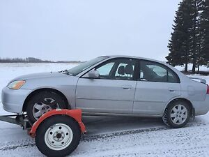 2002 Honda Civic LX 4 door sedan  $500 Yorkton