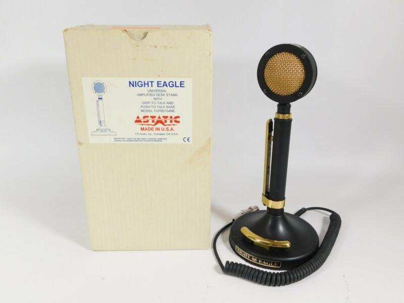 Astatic D-104 Night Eagle Black Edition Microphone w/ Box (beautiful condition)