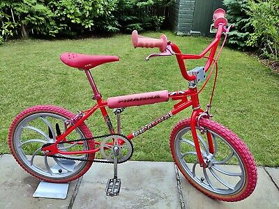MUSEUM WORTHY 1983 PIRANHA Old School BMX Bike Metal Mags Haro Skyway GT Raleigh
