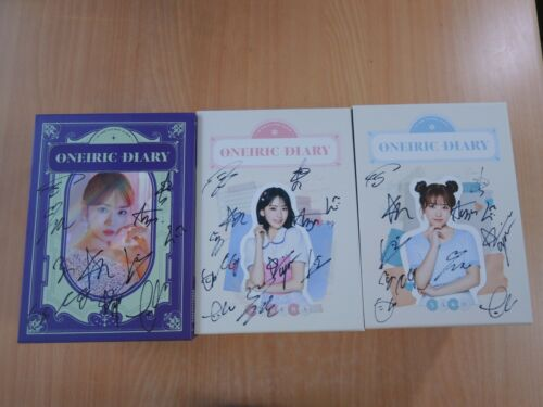 IZONE - Oneiric Diary (3rd Mini Promo) with Autographed (Signed)