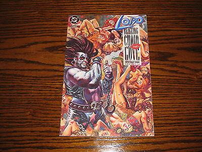 DC - LOBO Blazing Chain of Love Special #1 Comic!!  1992   VF
