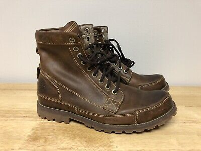 Timberland Heritage Earthkeepers Boots Mens 8.5 Brown 15551 Leather Worn Once
