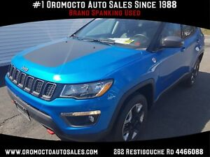 2017 Jeep Compass Trailhawk Trailhawk  4x4,SUNROOF,NAV,HEATED...