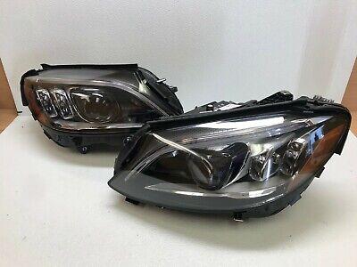 19 20 Mercedes W205 C-Class Left Right Multibeam LED Headlight Pair OEM