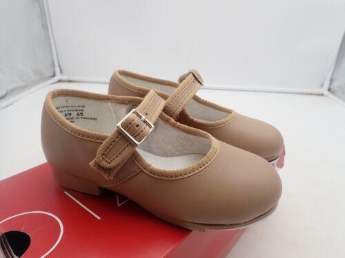 Capezio  Toddler-girls 3800 Mary Jane Tap Shoe , Caramel, 9 W Toddler