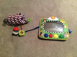 Music mirror for car/ toy for stroller