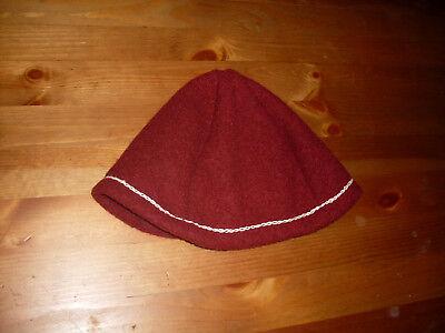 Mütze Kappe Kopfbedeckung Mittelalter Wikinger Kelten Wolle