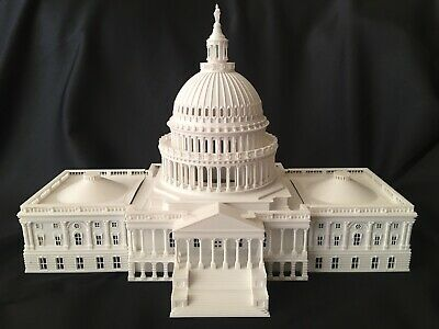 NEW Miniature Washington DC Collection #1 Capitol Building Dome HO Scale -