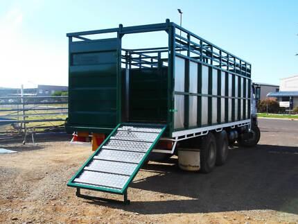 Anti bruise stock crates, Custom Built