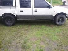 1998 Holden Rodeo Ute dual cab 5spd manual 4x4 6 stud Rutherford Maitland Area Preview