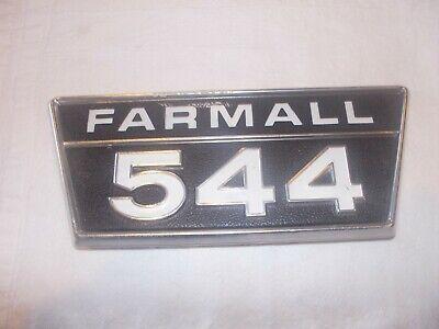 Farmall Ihc 544 Ih Tractor Original N Os Front Hood Side Panel Emblem Rare