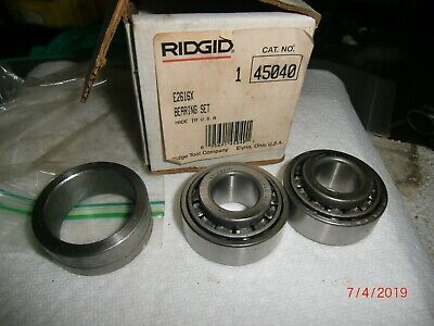 Ridgid 45040 Bearing Roller Set New Open Box Old Stock