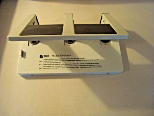 Acco  Paper Punch Model 550 Heavy Duty