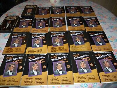 Lot of 19 Best of the Dean Martin Variety Show DVD Special Edition Plus