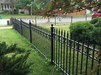 Metal fence removal and salvage