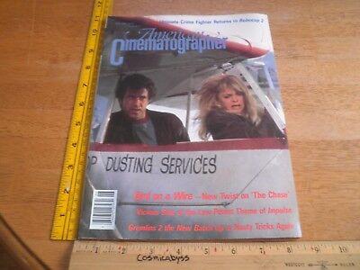 Bird on a Wire Robocop 2 American Cinematographer movie making magazine 1990