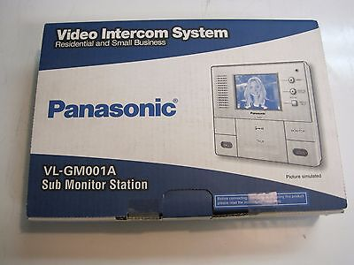 New Panasonic VL-GM001A Premium Main Monitor Station with 3.5-inch Color LCD