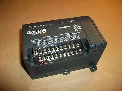 Koyo Direct Logic 05 Plc  D0-05ar  Ac Inputs Relay Outputs