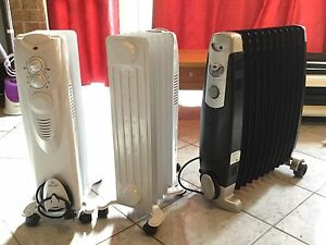 Oil heaters x3 Glendenning Blacktown Area Preview