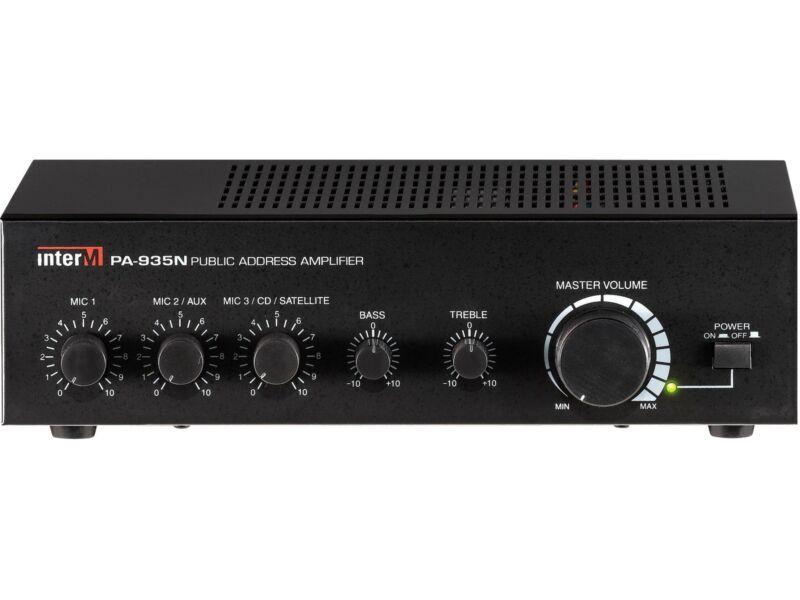 Inter-m Pa-935n 35w Public Address Mixing Amplifier/4ohm/8ohm/70v/100v/3 Inputs