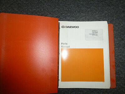 Doosan Daewoo S130lc-v Excavator Parts Catalog Manual