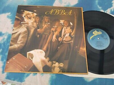 ABBA – ABBA EPIC  EPC 80835 UK BLUE LABELS LP NEAR MINT VINYL A4/B2