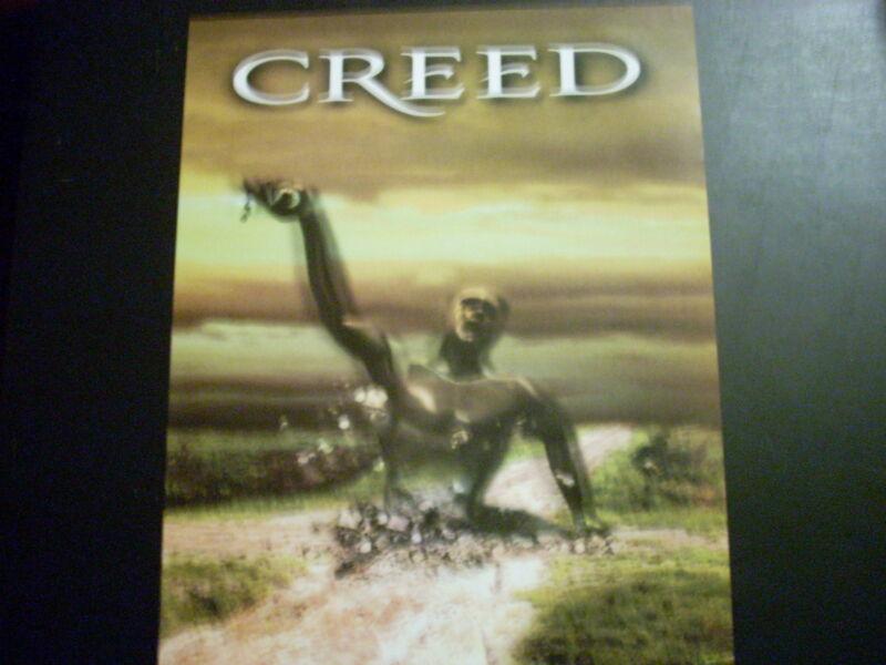 CREED 16x20 Human Clay Poster ( Scott Stapp )