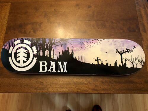 bam margera Element skateboard 2006