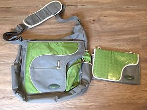 JJ Cole diaper bag and change pad
