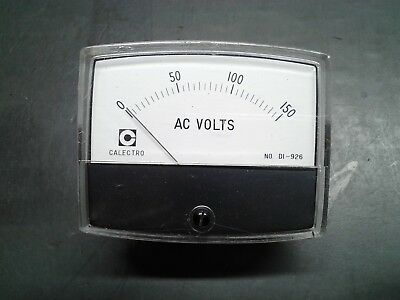 Vintage Calectro Di-926 0-15 Volts Ac Precision Meter Made In Japan