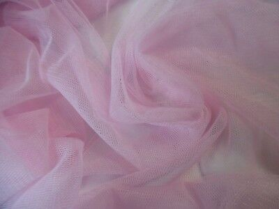 SOFT NYLON NETTING(NOT TULLE)~ PINK~DOLL FABRIC~12