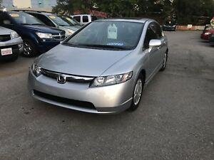 2006 Honda Civic very clean with sunroof!!! Certified ....