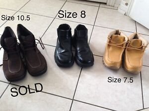 Mens Shoes size 7.5 and 8 for $5 each