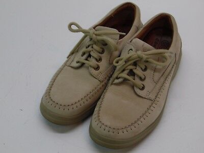 Ecco Comfort Fibre System Womens Tan Leather Tip Shoes Euro 38 Usa  7 7 5