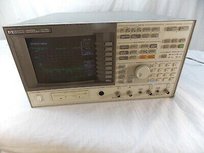 Agilent Hewlett Packard 89410a Vector Signal Analyzer Tested Option Ay7