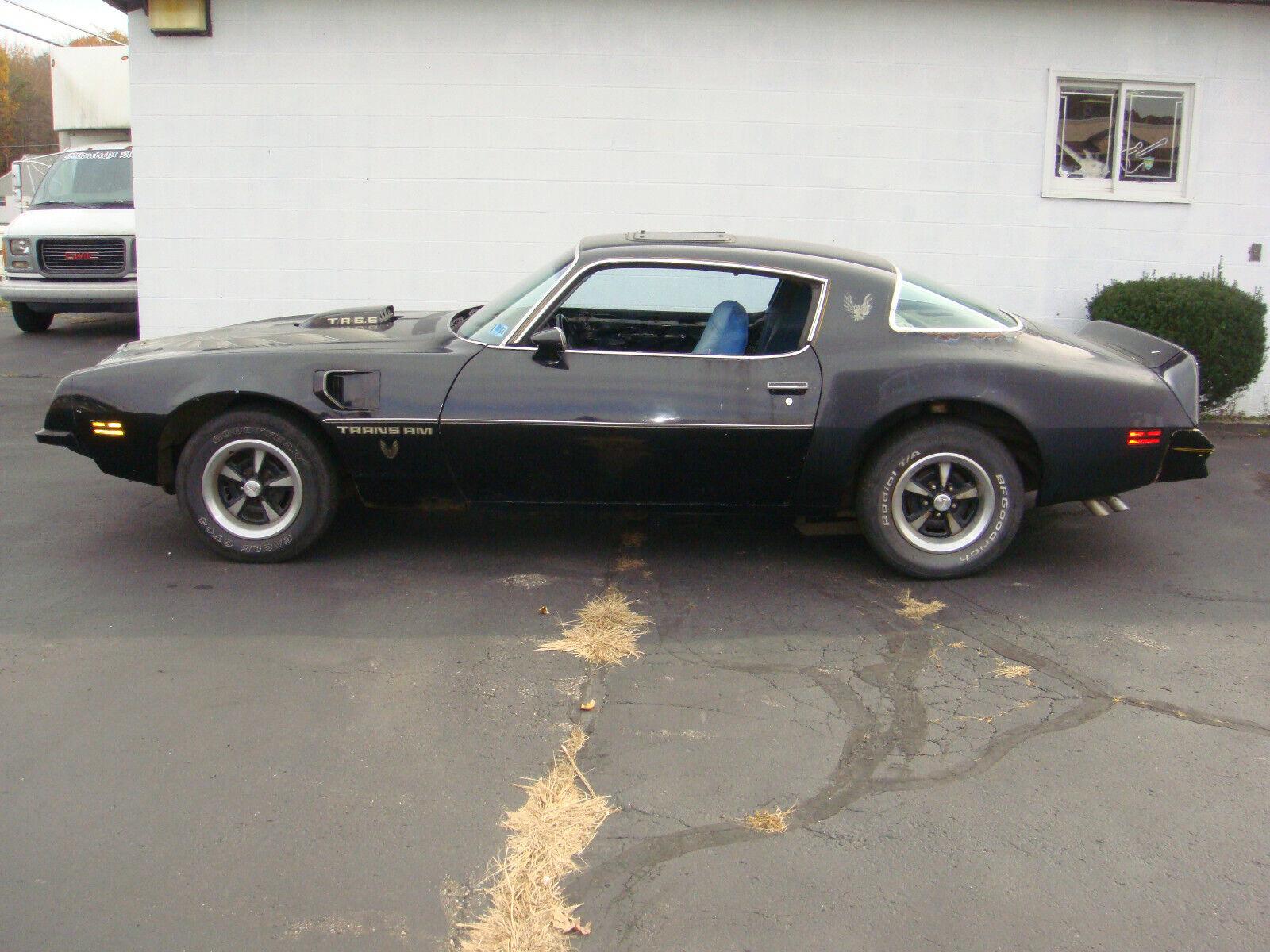 1975 Pontiac Trans Am WS4 1975 Pontiac Trans Am 455 4 speed posi barn find