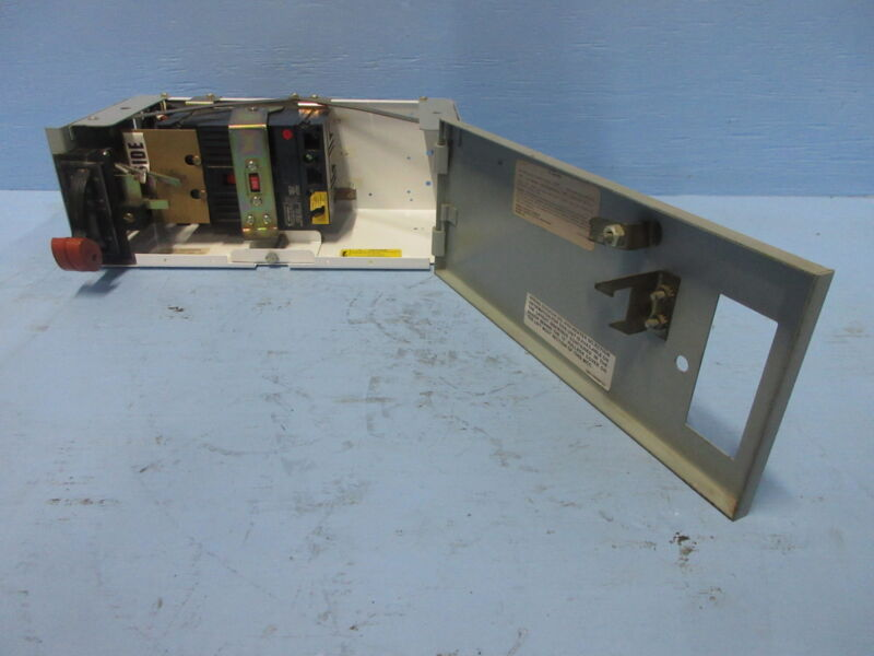 """General Electric GE 8000 50 Amp Breaker Type 6"""" MCC Feeder Bucket 50A THED136050"""