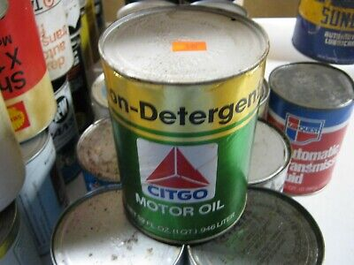 VINTAGE OIL CAN COLLECTION SELL OUT FREE SHIPPING Citgo #3