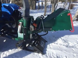 Model WC 88 woodland chipper
