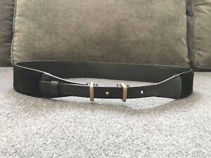 Club Monaco Leather Waist Belt Size Large  New