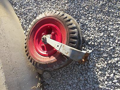 Mccormick Farmall F12 F14 Tractor Single Front End Frontend Wheel Tire Rim Yoke
